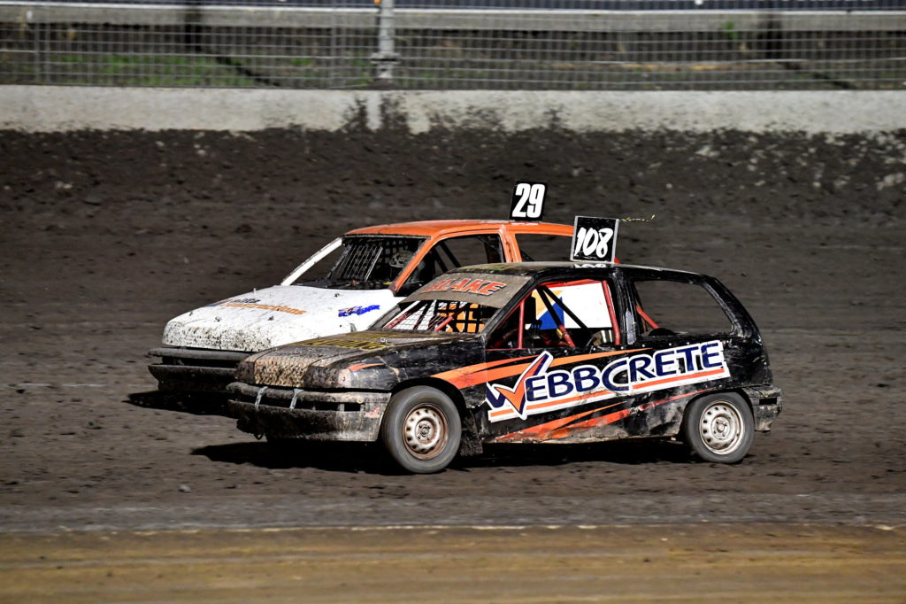 Expect close, fast racing from the Ellement Produce Junior Sedans tomorrow night.